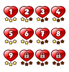 Heart level selection vector