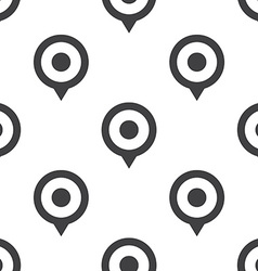 Map pin seamless pattern vector