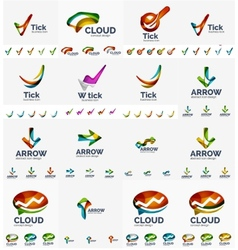 Company logo mega collection vector