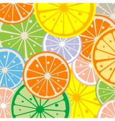 Seamless lemon vector