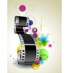 Film background vector