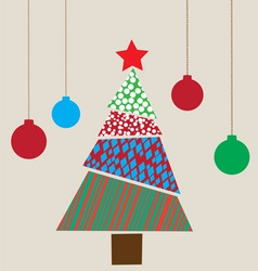 Tree christmas vector