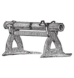Antique gun vector