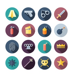 Icons miscellaneous vector