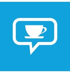 Drink message icon vector