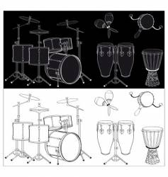 Percussion vector