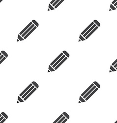 Pencil seamless pattern vector