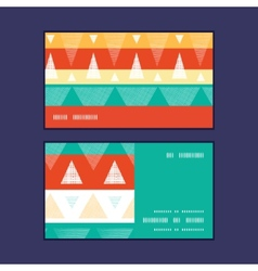 Vibrant ikat stripes horizontal stripe vector
