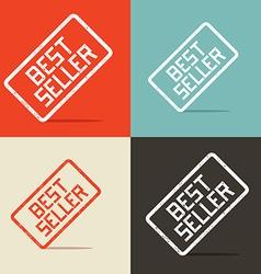 Best seller backgrounds vector