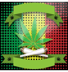 Marijuana-cannabis-joint vector