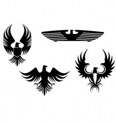Eagle tattoos vector