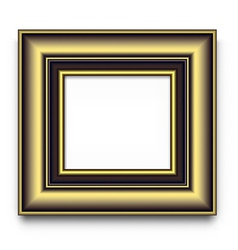 Frame for photo or picture vector