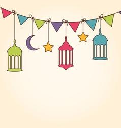 Background for ramadan kareem vector