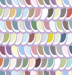 Seamless multicolor elliptical pattern vector