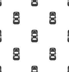 Car top seamless pattern vector