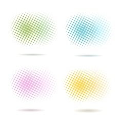Spotted pattern backgrounds vector