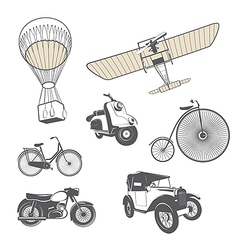 Set of retro transport vector