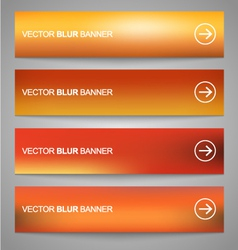 Blurred banners 1 vector