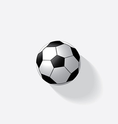 Soccer ball isolated vector