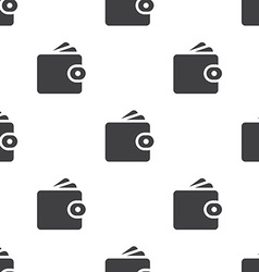 Wallet seamless pattern vector