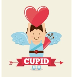 Cupid cute vector