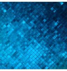 Blue glitters on a soft blurred background eps 10 vector