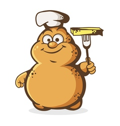 Potato cook vector