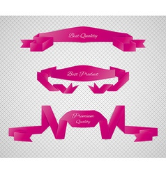 Red quality label vector