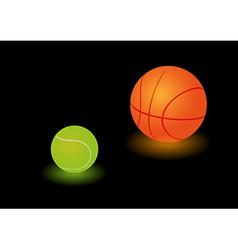 Sports lamps vector