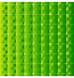 Retro style square and stripes green backgr vector