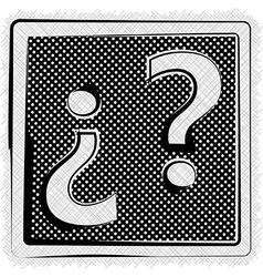 Polka dot symbol vector