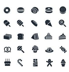 Dessert icon vector