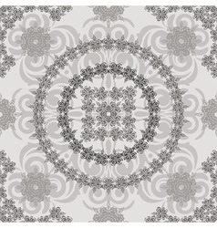 Seamless vintage floral vector