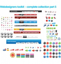 Web collections vector