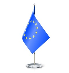 European unions flag vector