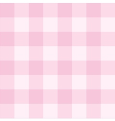 Seamless sweet checkered baby pink background vector