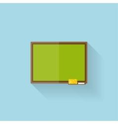 Flat web internet icon school study board vector