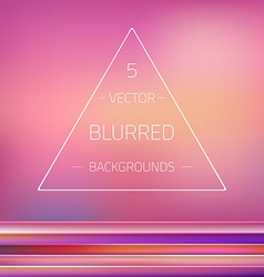 Abstract gradient mesh blurred passion 5 vector