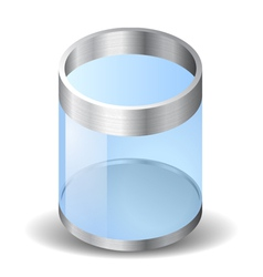 Icon for recycle bin vector
