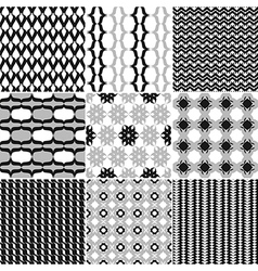 9 great patterns set 2 vector