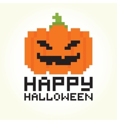 Happy halloween pumpkin vector