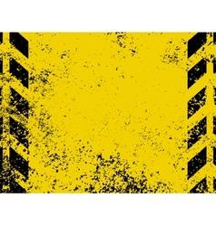 Grungy hazard stripes vector