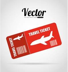 Ticket fly vector