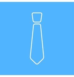 Tie icon eps10 vector