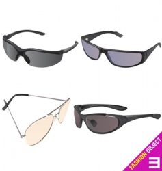 Men's sunglasses vector
