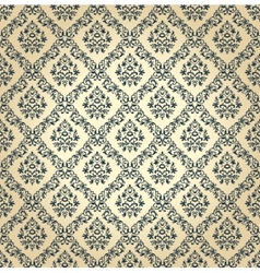 Seamless floral background vintage vector