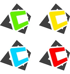 C letters vector