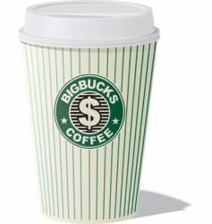 Bigbucks coffee vector