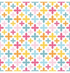 Bright seamless pattern endless texture vector