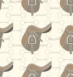 Saddle background vector